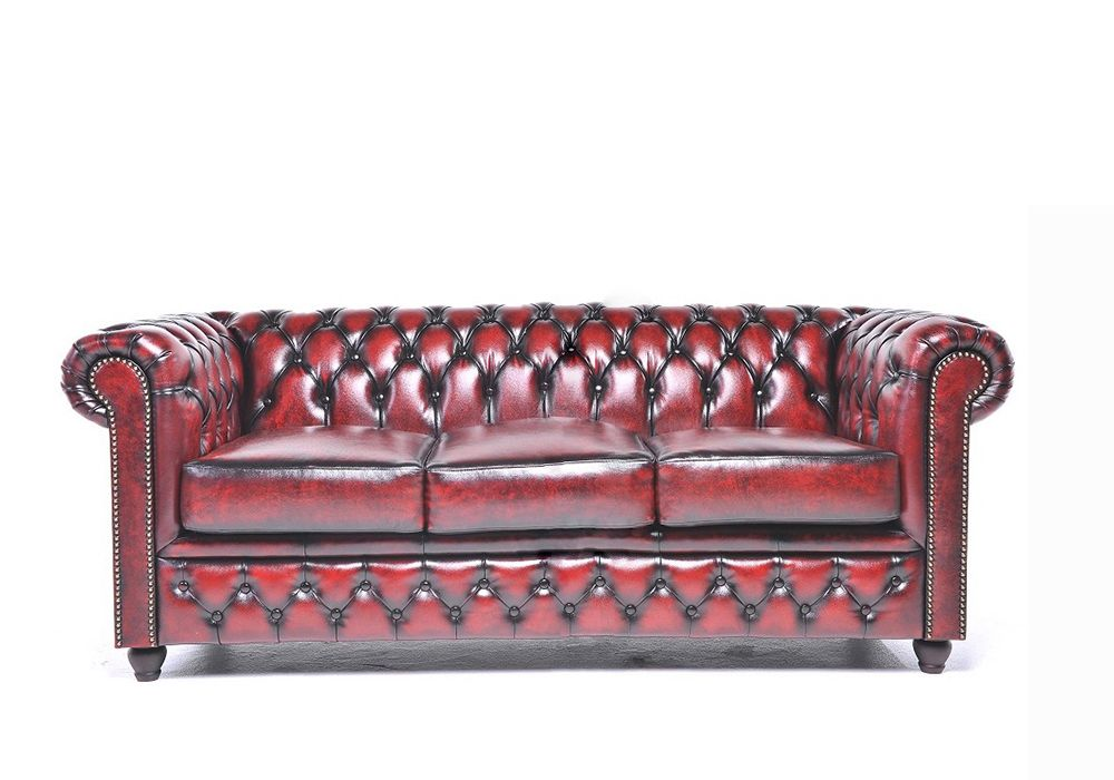 Rode Leren Chesterfield Bank.Chesterfield Banken Klassiek Ontwerp Modern Design De Design